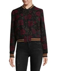 Sanctuary - Rose Seducation Bomber Jacket - Lyst