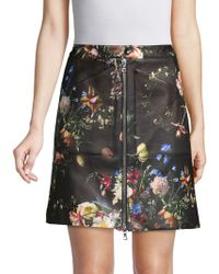 Adam Lippes - Printed A-line Skirt - Lyst