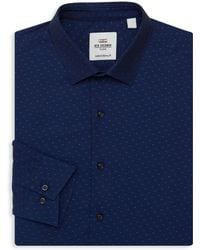 Ben Sherman - Slim-fit Patterned Dress Shirt - Lyst
