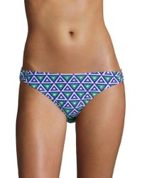 Shoshanna - Medit Geo Bikini Bottom - Lyst