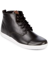 Ben Sherman - Lace-up Mid-top Shoes - Lyst