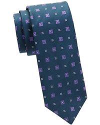 Eton of Sweden - Textured Floral Silk Tie - Lyst