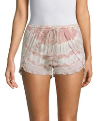 Young Fabulous & Broke - Coral Tassel Shorts - Lyst