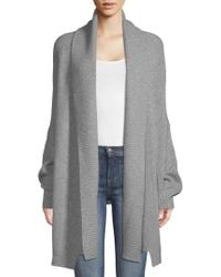 Zadig & Voltaire - Mystic Open-front Cashmere Cardigan - Lyst