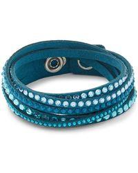 Swarovski - Crystals Wrap Bracelet - Lyst
