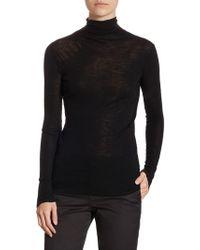 Vince - Cowl Wool Sweater - Lyst