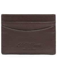 Saks Fifth Avenue - Collection Leather Card Case - Lyst