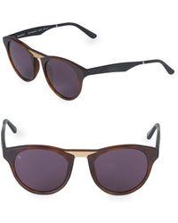 619b3c1e941 Smoke X Mirrors - Black Betty 48mm Square Sunglasses - Lyst