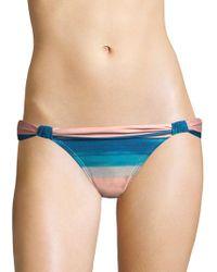 7b3a32e6ef Ivanka Trump Printed Halter Bikini Top & Bikini Bottom in Blue - Lyst