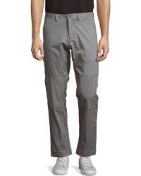 Saks Fifth Avenue - Solid Four-pocket Pants - Lyst