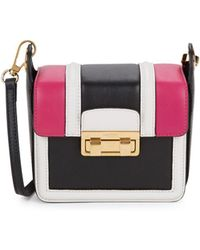 Lanvin - Small Lala Leather Crossbody Bag - Lyst