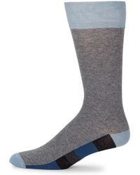 Bruno Magli | Color Block Socks | Lyst
