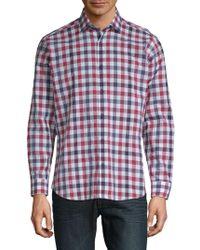 Jared Lang - Cotton Gingham Shirt - Lyst