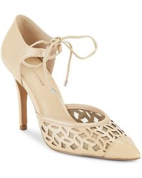 Saks Fifth Avenue - Catalina Pointed Toe D'orsay Pumps - Lyst