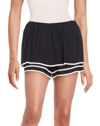 See By Chloé - Multi-layer Puff Shorts - Lyst