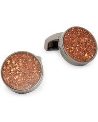 Tateossian Industrial Shaved Copper Cuff Links - Multicolor