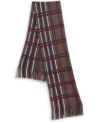 Saks Fifth Avenue - Modern Plaid Scarf - Lyst