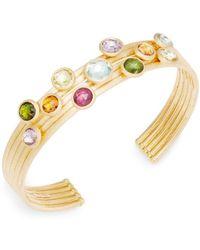 Marco Bicego - Multi-stone 18k Yellow Gold Bracelet - Lyst