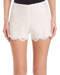 Alexis - Pia Lace Shorts - Lyst