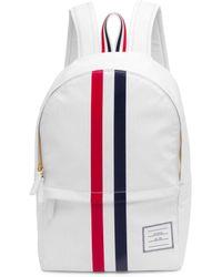 Thom Browne - Contrast 2-bar Stripes Backpack - Lyst
