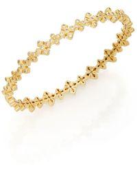 Freida Rothman - Maltese Cross Bangle Bracelet - Lyst