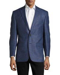 Ralph Lauren - Checked Two-button Jacket - Lyst