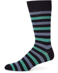 Saks Fifth Avenue - Collection Striped Rugby Socks - Lyst
