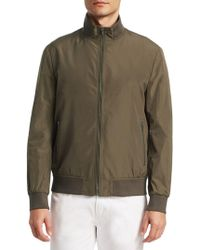 Saks Fifth Avenue - Collection Nylon Bomber Jacket - Lyst