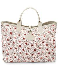 Longchamp - Roseau Fleuri Hand Bag - Lyst