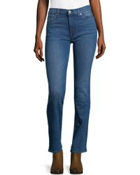 Hudson Jeans - Faded Mid-rise Jeans - Lyst