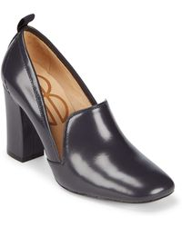 Bill Blass - Laverne Leather Closed Toe Court Shoes - Lyst