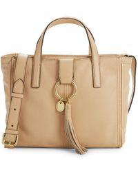 Cole Haan - Fantine Leather Shoulder Bag - Lyst