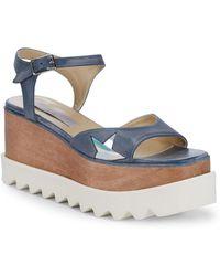 Stella McCartney - Star Wedge Sandals - Lyst