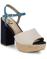 Circus by Sam Edelman - Nakita Ankle Strap Sandals - Lyst
