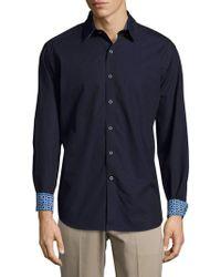 Robert Graham - Bayside Casual Long-sleeve Cotton Shirt - Lyst