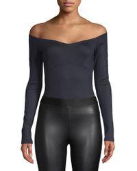 Gabriela Hearst - Off-the-shoulder Bodysuit - Lyst