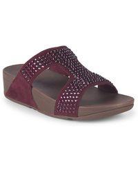 Fitflop - Glitzie Slide Sandals - Lyst