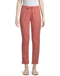Onia - Ella Linen Cotton Coverup Pants - Lyst