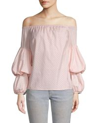 Petersyn - Lily Off-the-shoulder Top - Lyst