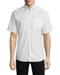 Vilebrequin - Printed Cotton Button-down Shirt - Lyst