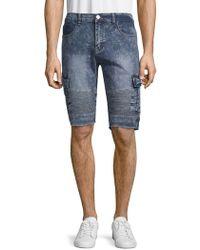 c97f47c980 Xray Jeans - Moto Denim Cargo Shorts - Lyst