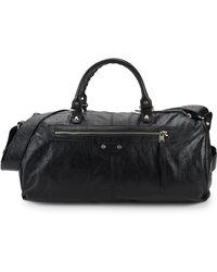 Balenciaga - Arena Leather Gym Bag - Lyst