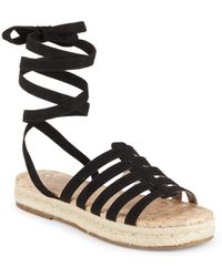Circus by Sam Edelman - Wrap Espadrille Sandals - Lyst