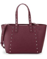 French Connection - Small Ansley Leather Tote - Lyst