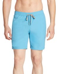 Onia - Collection Solid Nylon Swim Trunks - Lyst