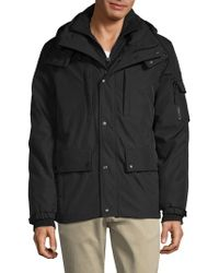 S13/nyc - Hooded Jacket - Lyst