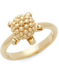 Temple St. Clair - 18k Yellow Gold Cluster Ring - Lyst