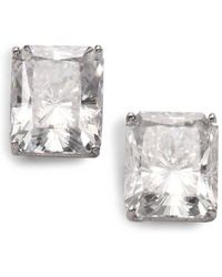 Adriana Orsini - Faceted Stud Earrings - Lyst