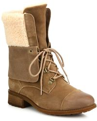 UGG - Gradin Suede Lace-up Boots - Lyst
