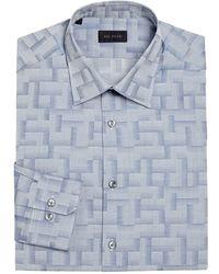 Pal Zileri - Regular-fit Barcode Dress Shirt - Lyst